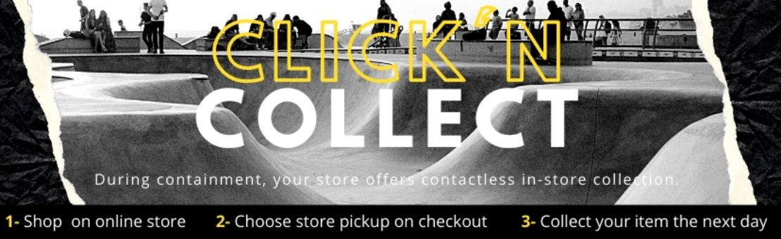 Click n collect confinement
